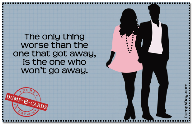 Worse than the one that got away Dump E-card