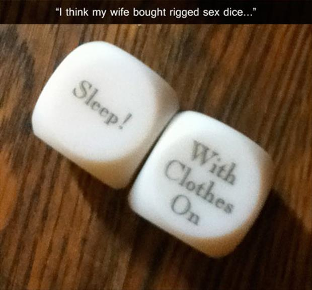 a funny sex dice