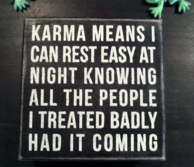 a karma funny pictures