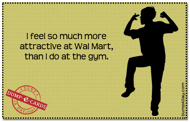 attractive at wal mart Dump-E-Card