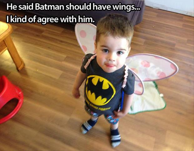 batman should have wings