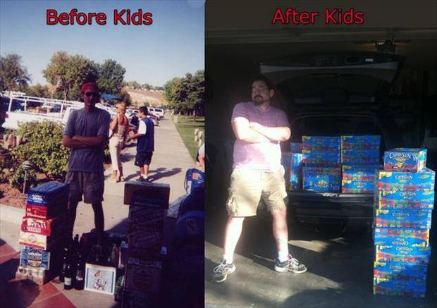 before and after kids