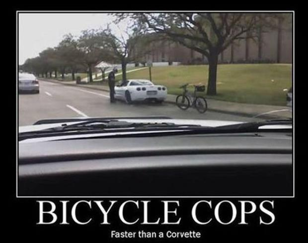 bicycle cops funny pictures
