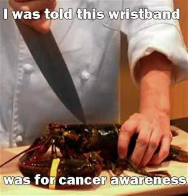 cancer awareness wrist bands funny pictures