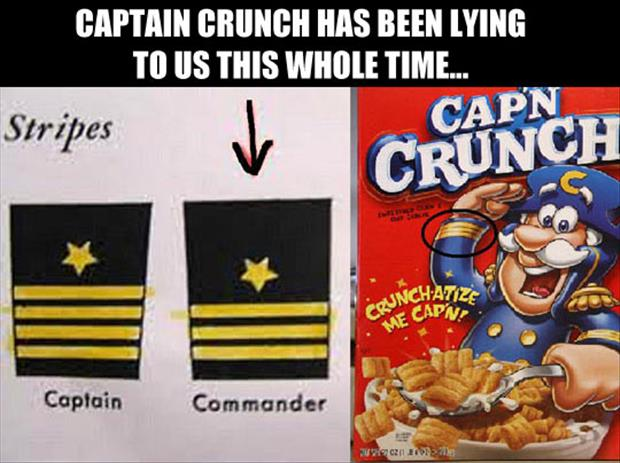 captain crunch funny pictures