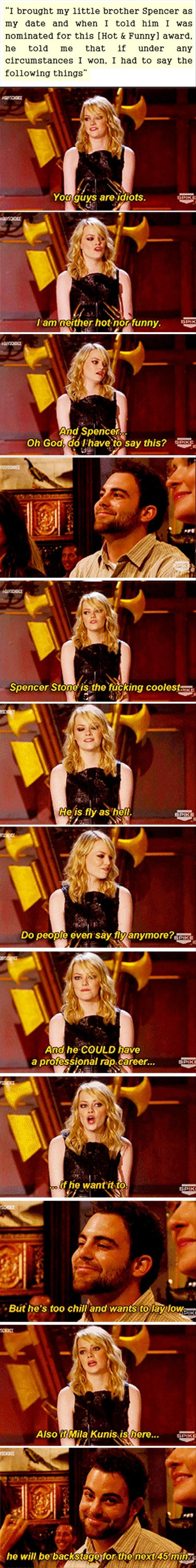emma stone speach