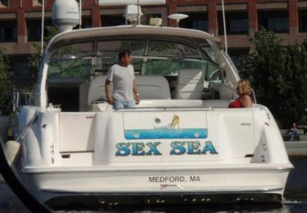 Creatively Funny Boat Names â€