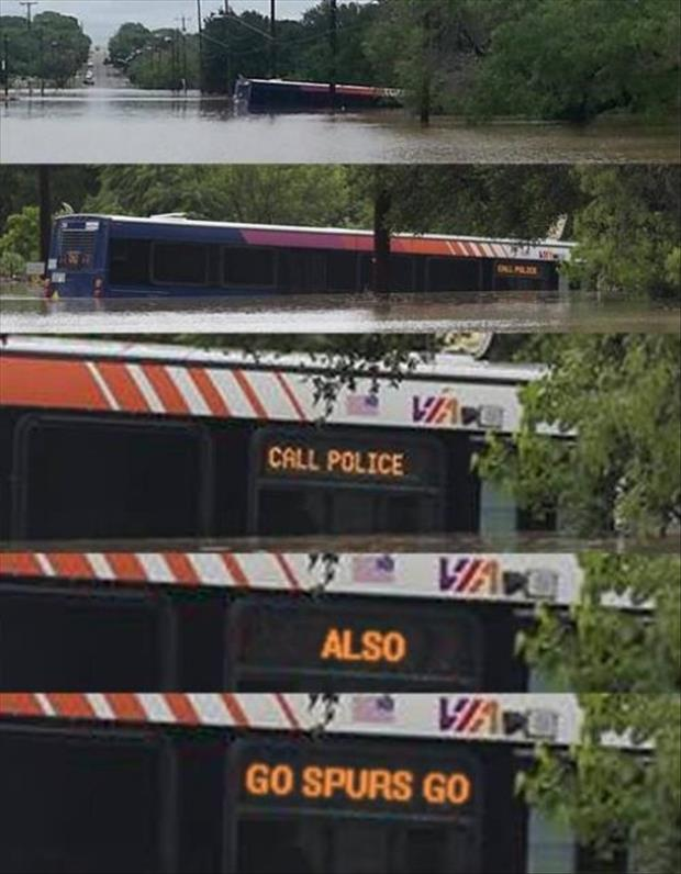funny bus signs