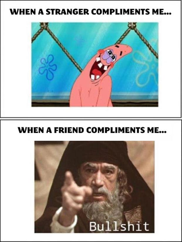 funny compliments