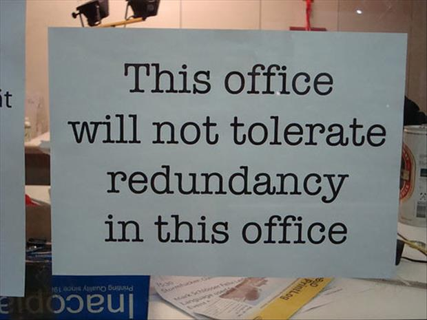 funny office signs