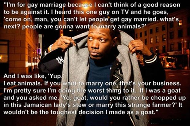 gay marriage and marrying animals
