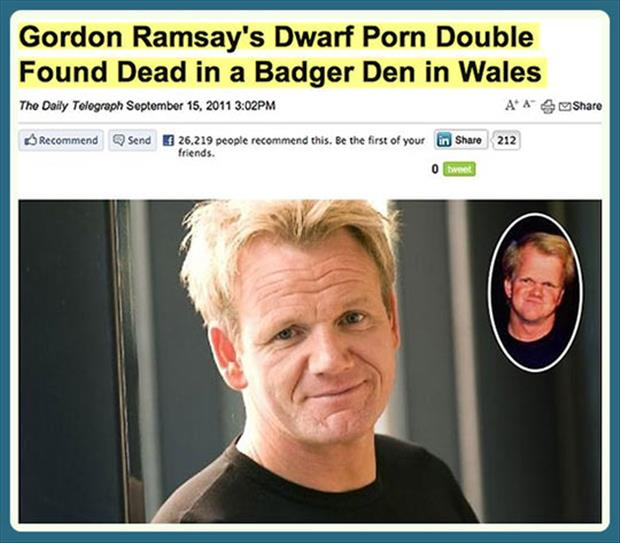 gordon ramsay double died