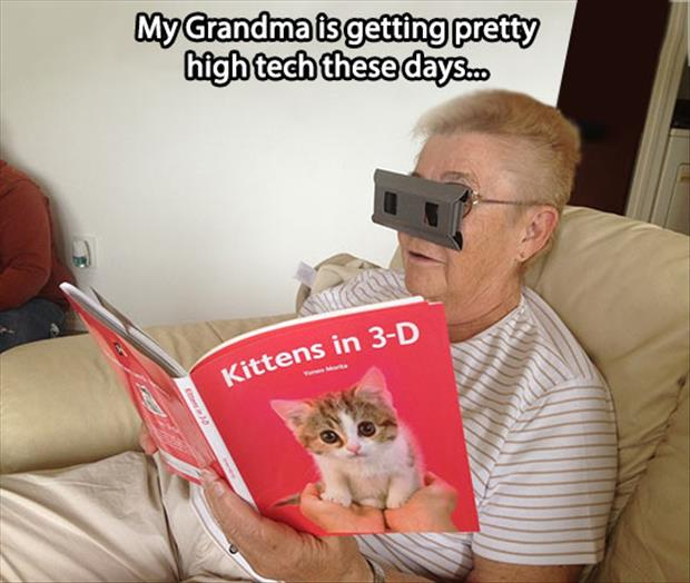 high tech grandma