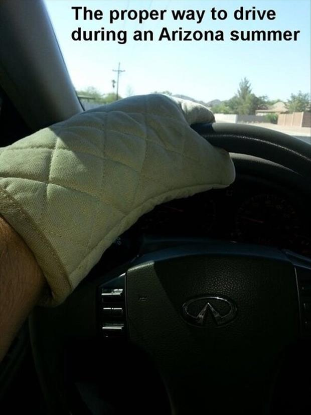 how to drive in arizona