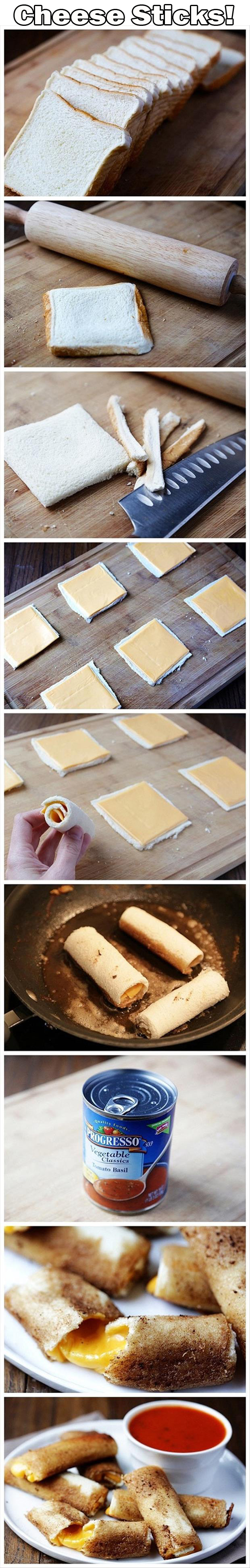 how to make cheese sticks