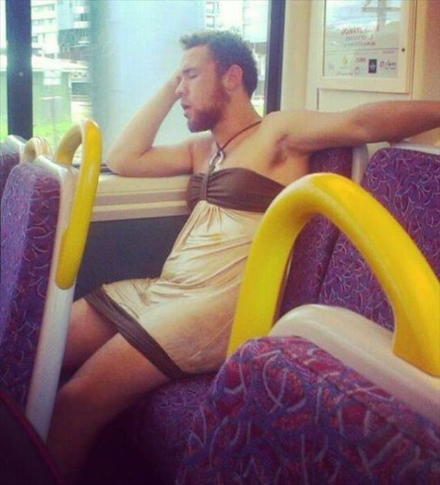 man wearing a dress funny pictures