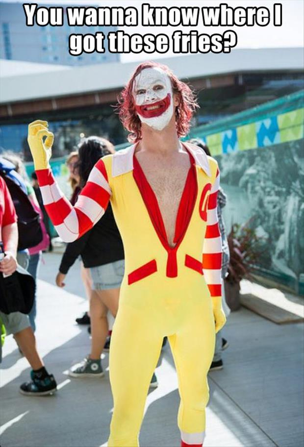 ronald mcdonald clown funny pictures