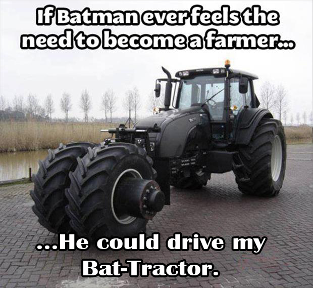 the bat tractor