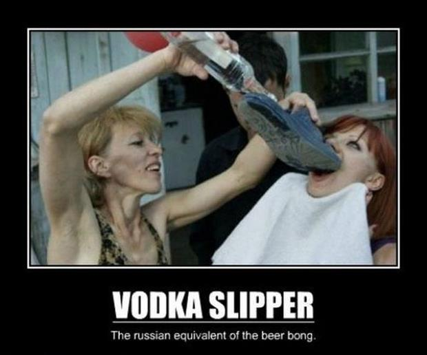 vodka slippers