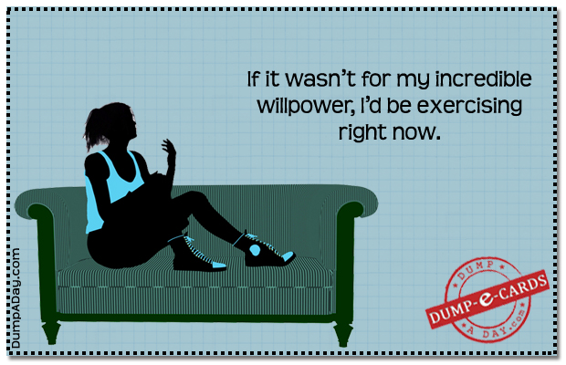 will power Dump E-card