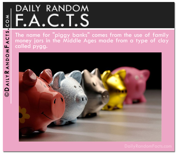 Daily Random Facts- Piggy Banks