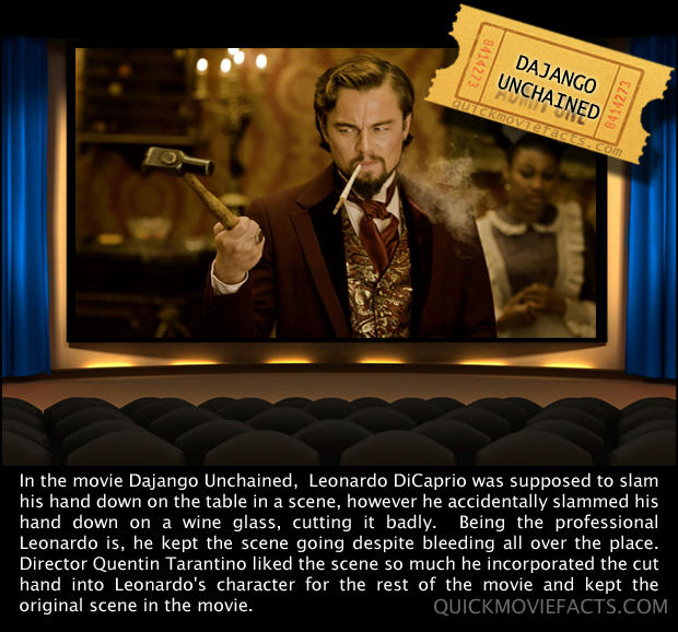 Dajango Unchained Movie Fact