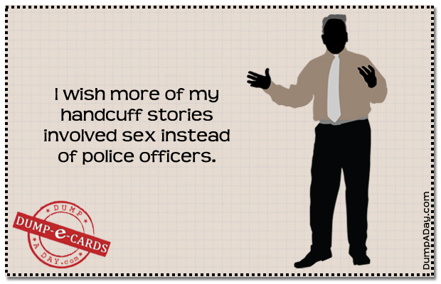 Dump E-card - Handcuff Stories