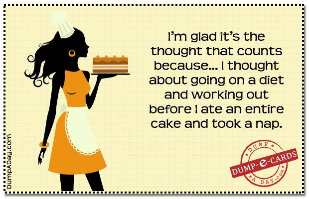 Dump E-card - Thought that counts