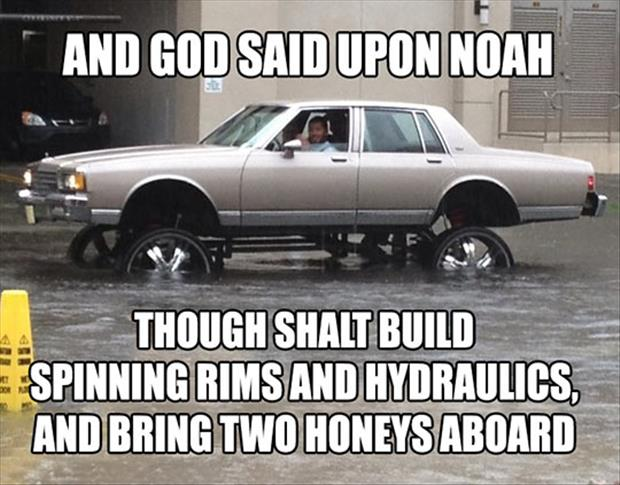 God said unto Noah