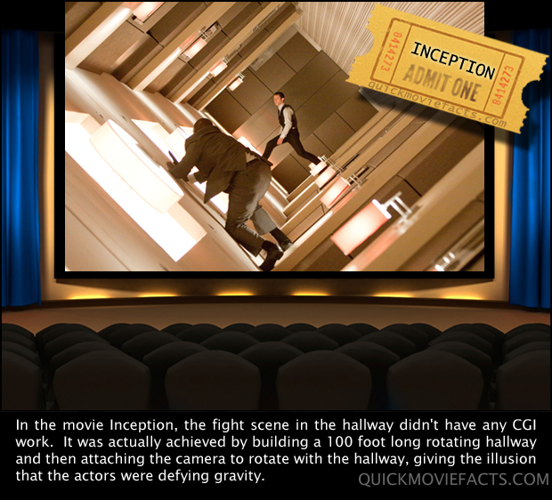 Inception movie facts