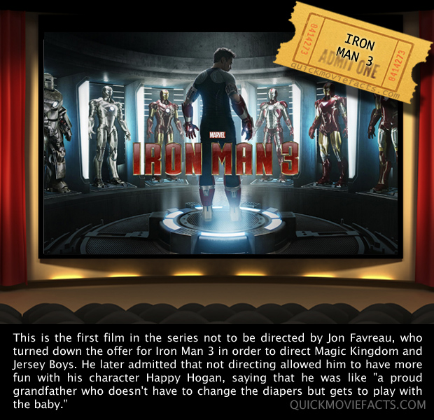 Iron Man 3 Movie Fact