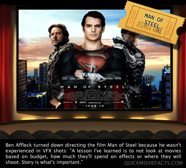 Man of Steel Fact