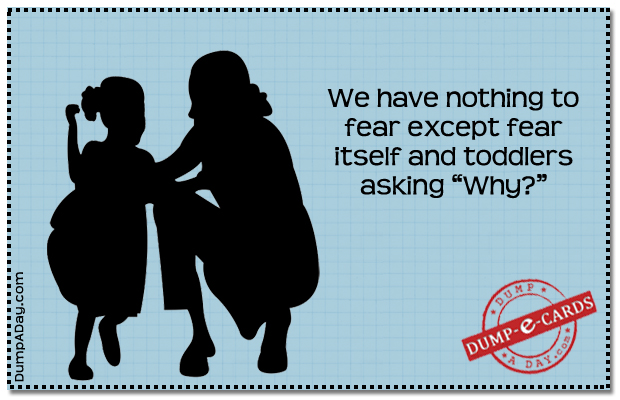 Nothing to fear Dump E-card