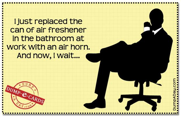 Office prank E-card