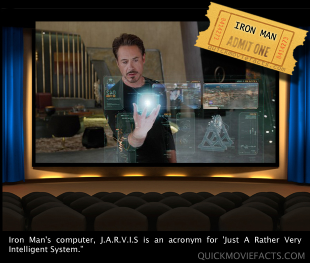Quick Movie Facts- Iron Man Jarvis Fact