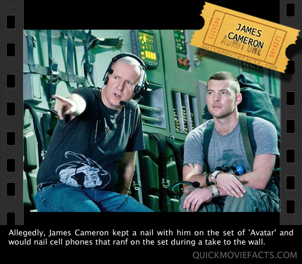 Quick Movie Facts- James Cameron Avatar Fact