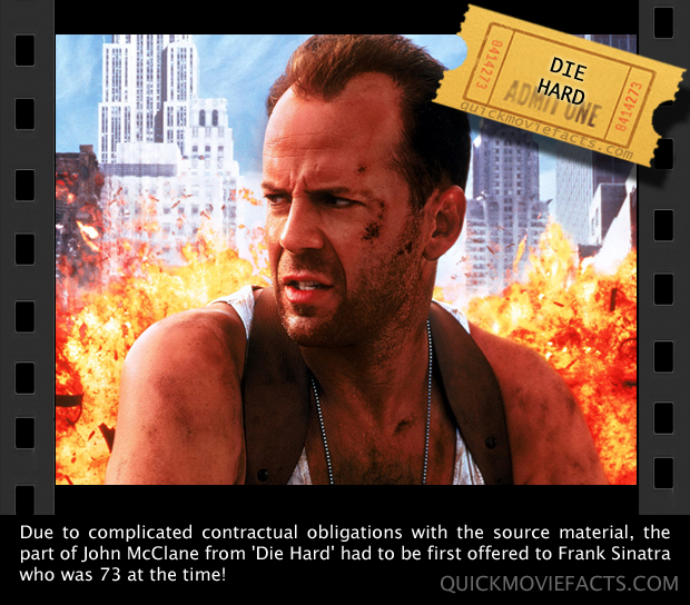Quick Movie Facts- John McClane of Die Hard