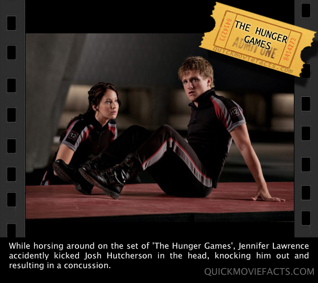 Quick Movie Facts- The hunger games movie fact