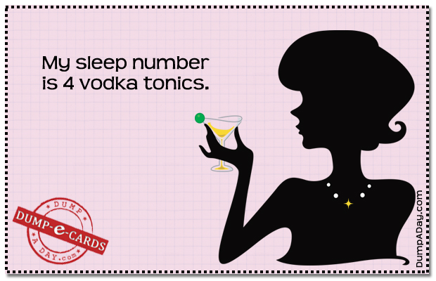 Sleep Number Dump E-card