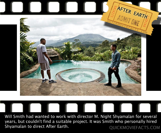 Will Smith- After Earth Fact