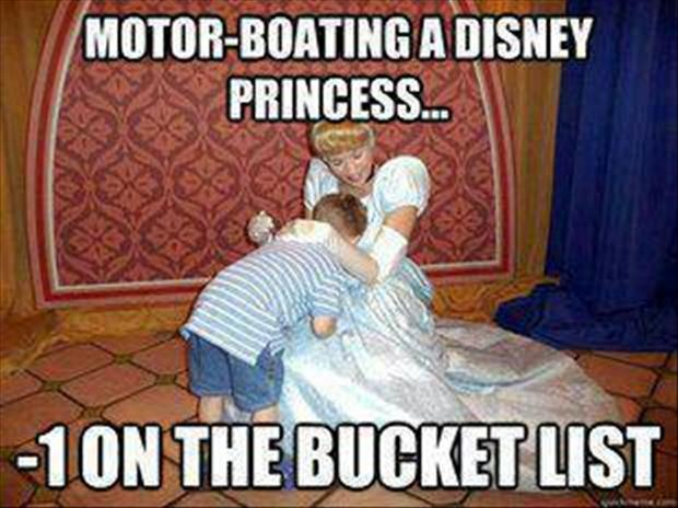 a motorboating a disney princess funny pictures