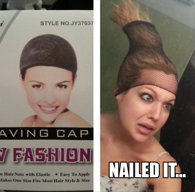 a nailed it hair ties