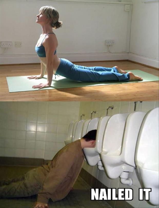 a nailed it yoga