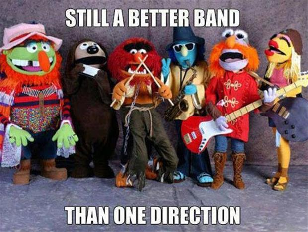 better band than one direction