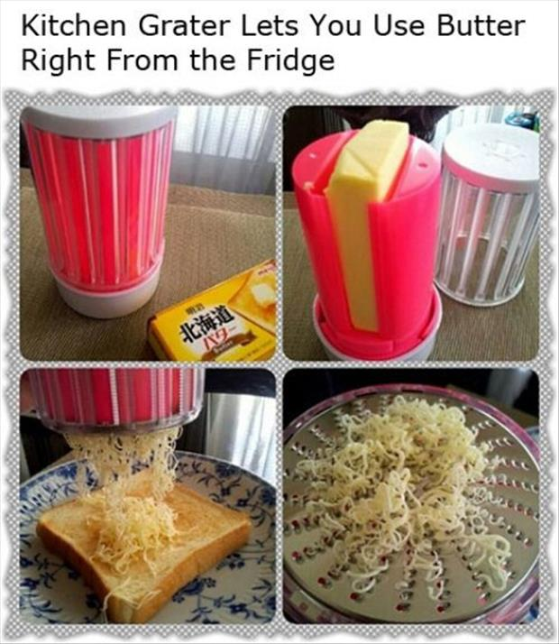 cheese grater your butter