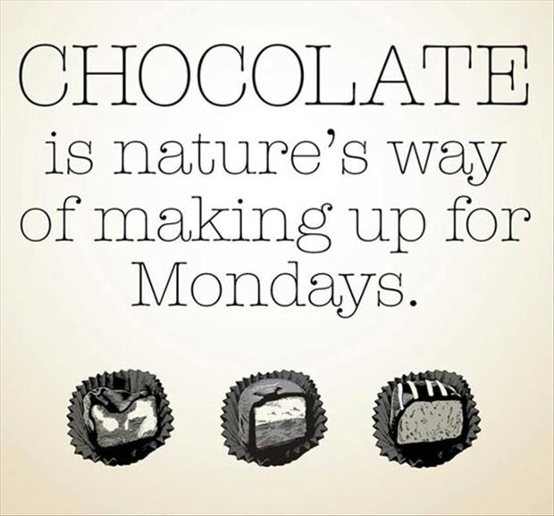 chocolate and mondays