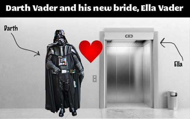 darth vader new wife