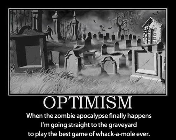 demotivational posters optimism