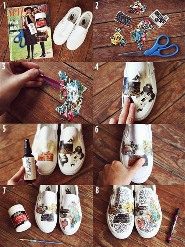 do it yourself craft shoes