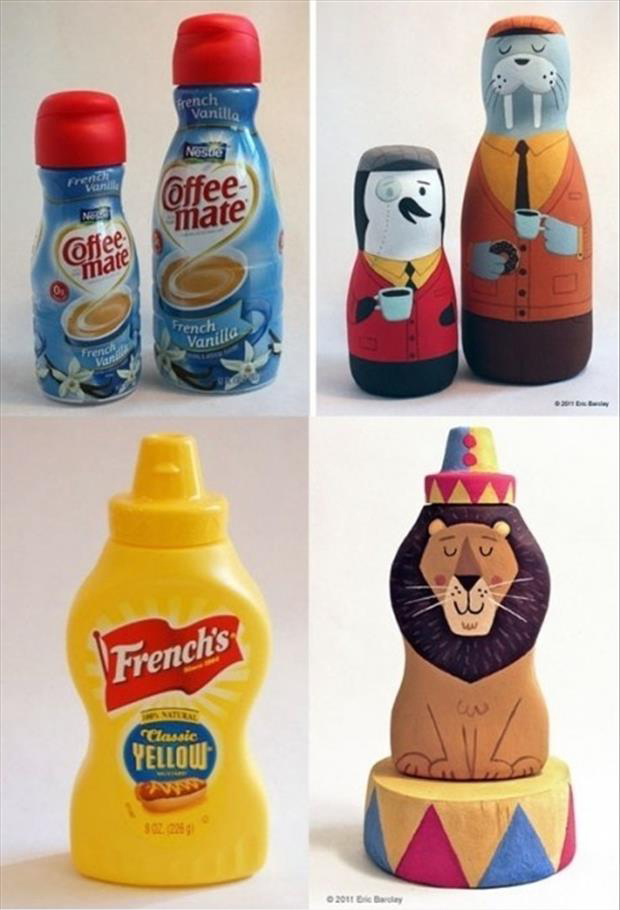 do it yourself crafts painted bottles